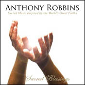 Anthony Robbins Sacred Blessings CD Cover